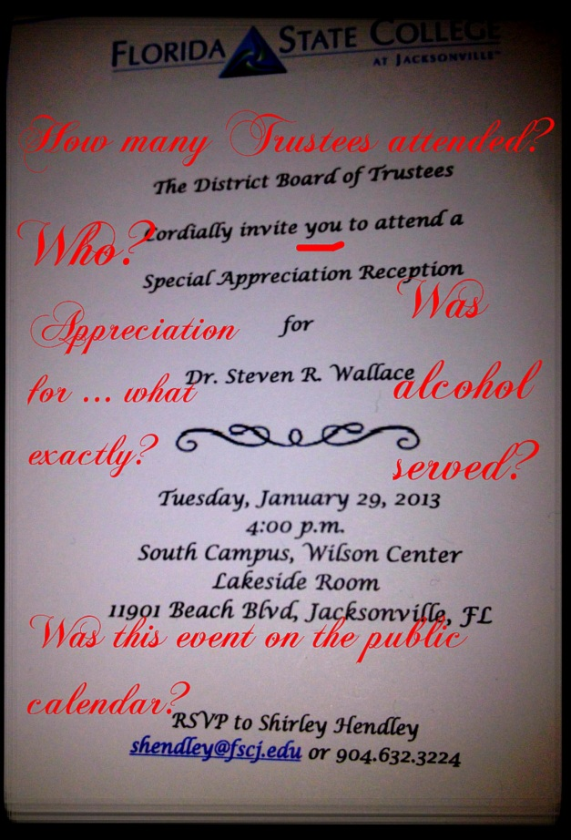 Wallace Party Invite